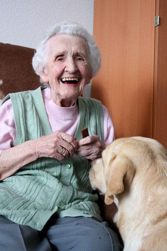 Therapiehund-mit-alter-Dame